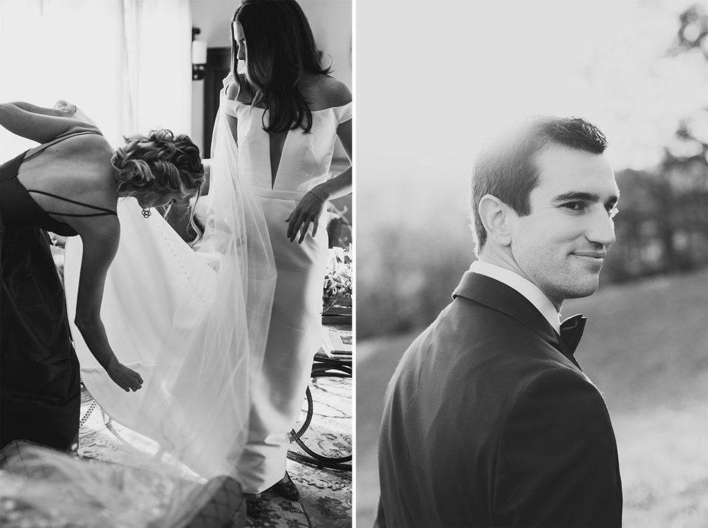 1960s era wedding dress