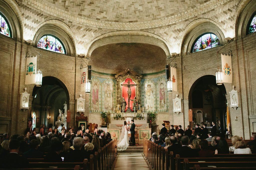 basilica asheville wedding photos
