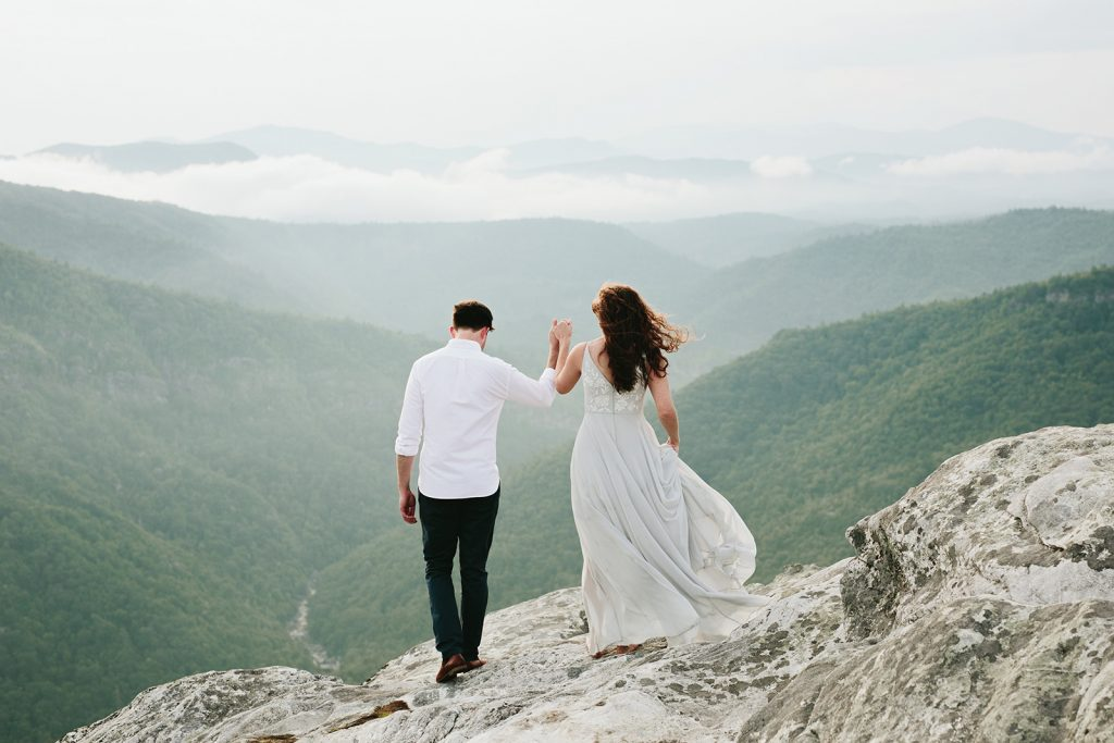 asheville elopement photography
