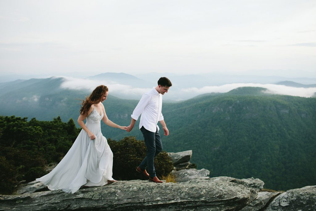 mountain elopement nc