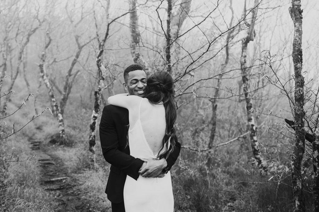 emotional wedding photography asheville