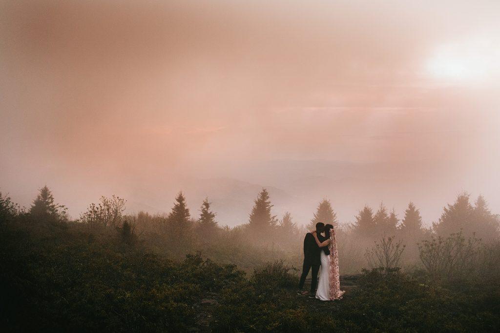 unique Asheville elopement