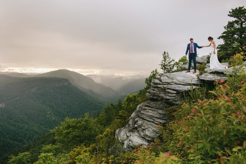 mountain elopement in asheville