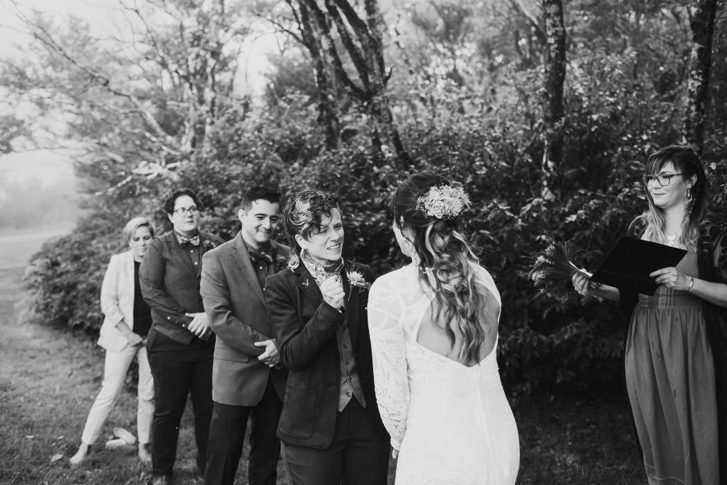 same sex elopement in asheville