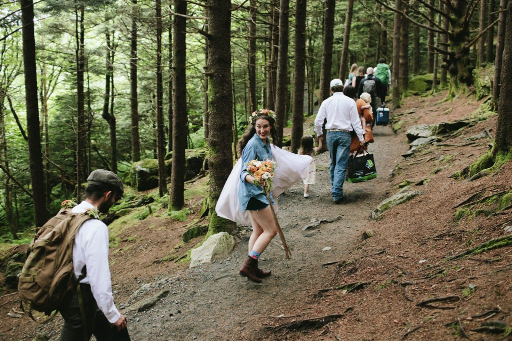 adventure elopement in nc
