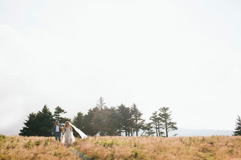 mountaintop elopement in asheville