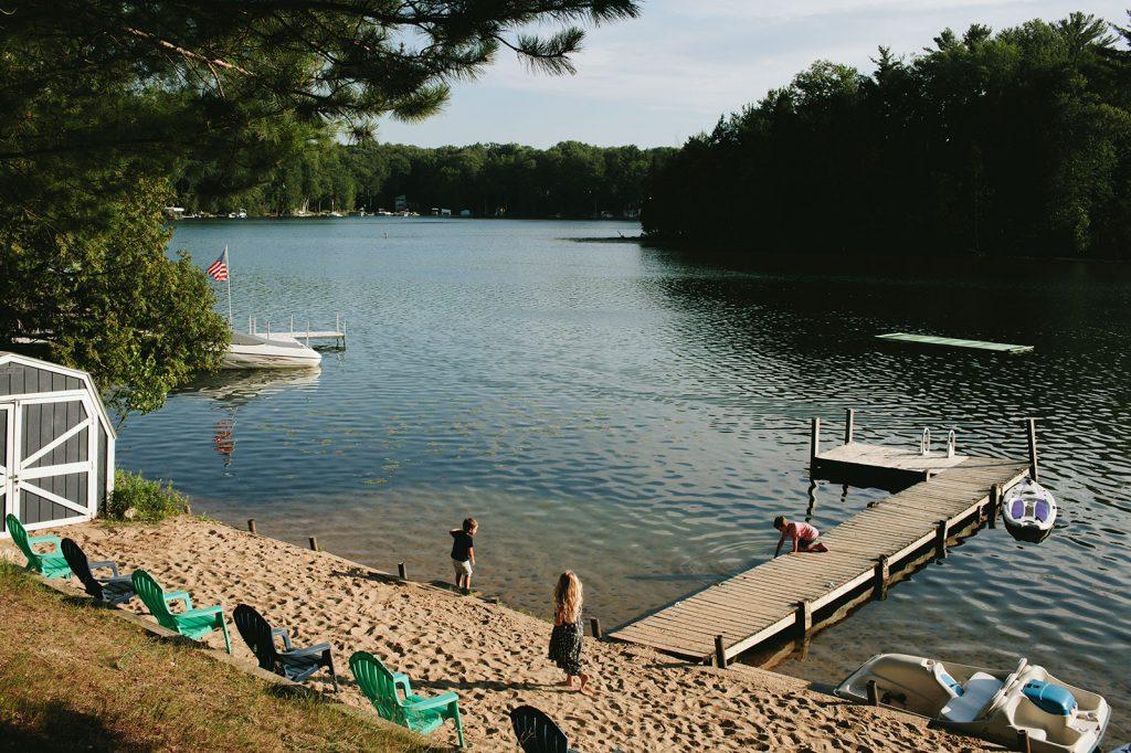 michigan lake rental house