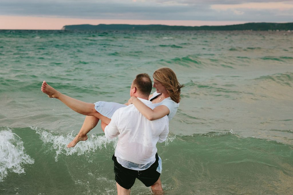 michigan coast wedding