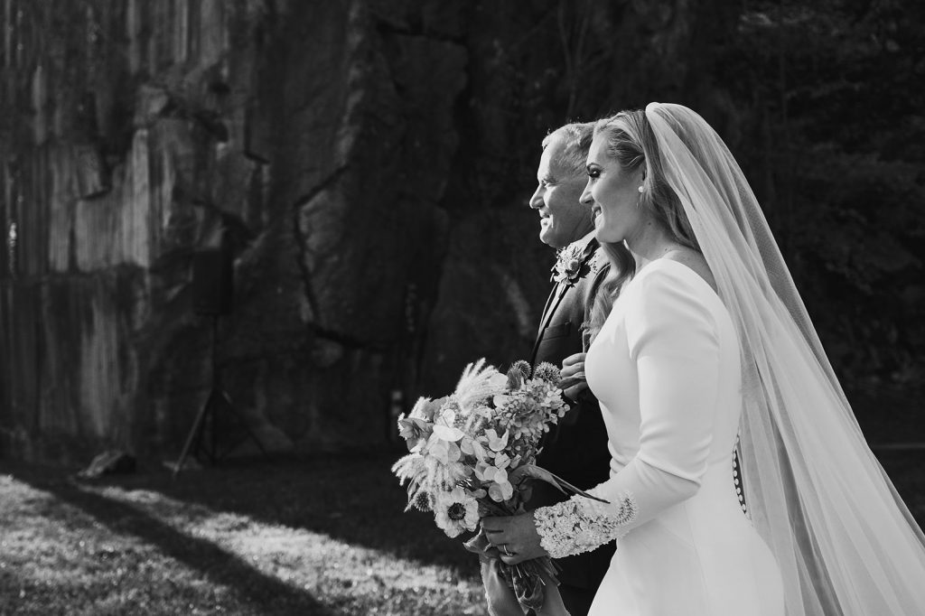 modern wedding at the quarry in knoxville tn